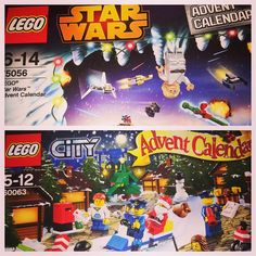 Why have one lego advent calendar when you can have two. Though the Star Wars one will be the coolest. #lego #instalego #legomovie #thelegomovie #everythingisawesome #legoadventcalendar #legochristmas #legocity #legostarwars #lego_starwars #legominifig #legominifigs #legominifigure #legominifigures #brickculture #brick_kingdom #brick_universe