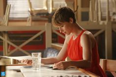 Pixie Cut. Karine Vanasse as Margaux LeMarchal in Revenge.