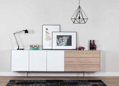 dressoir hout, dressoir wit, dressoir design, dressoir modern, dressoir woonkamer | SONOROUS.NL Sideboard, Buffet, Modern Design, Diy Projects, Cabinet, Bedroom, Storage, Diy Pins, Furniture