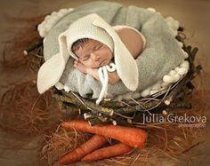 Baby bunny hat   Etsy