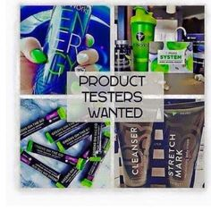 Product Testers I am looking for 11 people who would like to test any product for 3 months at my discount! 40% off all products/ orders. Perks! And free wrap rewards :) interested please text me  614 949 1434 Itworks jjameson.itworks.com Other