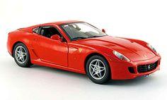 Ferrari 599 GTB red Hot Wheels. Ferrari 599 GTB red miniature 1/18