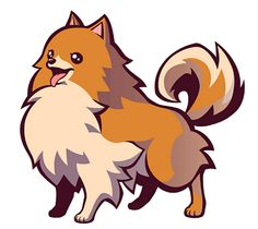 152 Best Pom Clipart Images In 2019 Pomeranians Drawings Pencil