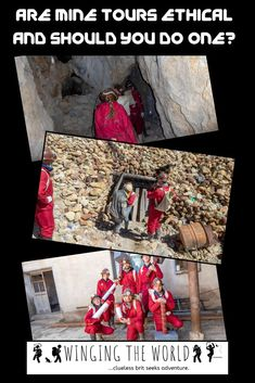 I originally had no desire to go on one of Potosí's mine tours and then I read more. Can mine tours ever be ethical and should tourists do them? Will You Go, Responsible Travel, Travel List, Day Use, Travel Inspiration, Wings, Tours, World, Controversial Topics
