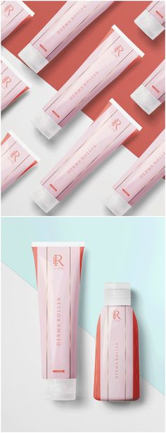 Packaging Design for Face Care Product Derma Roller for El Rue Company - World Brand Design Design Packaging, Label Design, Derma Cosmetics, Brand Identity, Branding, Derma Roller, Cosmetic Packaging, Facial Treatment, Brand Design