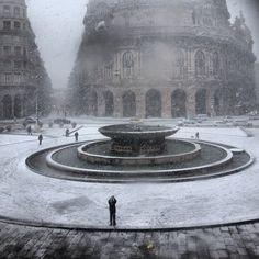 Genova, Piazza de Ferrari 02.11.2013