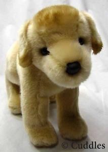 Spankie Yellow Lab Dog Puppy Cuddle Plush Toy Douglas Stuffed Animal | eBay