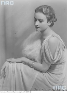 Maria Łosińska - Miss Krynicy 1939