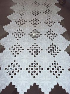 Hardanger Embroidery by Anibelle | Sewing | Pinterest