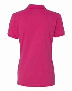 JERZEES Women/'s Spotshield 50//50 Blend Sport Shirt Top 437WR up to 2XL