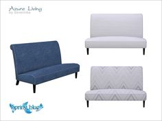Severinka_'s [Azure Living] Love seat