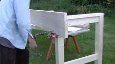 NOTE:Just so you know, this is an older workbench series. Paul has a newer Workbench series. If you are interested in the updated version of Paul's workbench please click the button down below. Woodworking Shows, Woodworking Bench, Paul Sellers Workbench, Craftsman Workbench, Building A Workbench, Outdoor Decor, Blog, Youtube, Workbenches