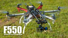 DJI F550 GPS Drone w/ NAZA Lite (RTF) - HeliPal.com