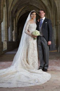 Pin for Later: Milliardäre, echte Prinzessinnen, Blogger und Blair Waldorf haben in Kleidern von diesem Designer geheiratet