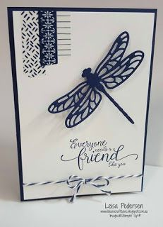 Leisa's Craft Cave: Crazy Crafters Blog Hop with Georgia Giguere