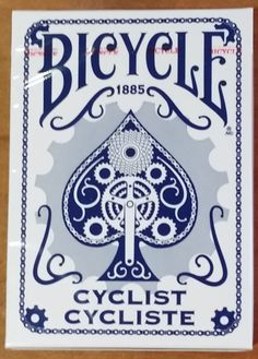 Who's in for a game of rummy? We love these vintage, cyclist style playing cards, they're a great way to enjoy time with the family. Made in the USA.