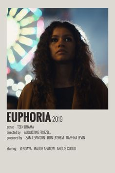 Alternative Minimalist Movie/Show Polaroid Poster - Euphoria - Tiktok Videos about you searching for. Iconic Movie Posters, Minimal Movie Posters, Iconic Movies, Film Posters, Vintage Music Posters, Vintage Movies, Film Polaroid, Polaroids, Polaroid Wall