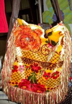 Vintage Tapestry Boho Bag