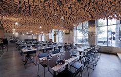 Gazi Restaurant Designed by March Studio Shortlisted for 2013 Best Restaurant Design