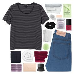 """""""be a rose which gives fragrance even to those who crush it"""" by feels-like-snow-in-september ❤ liked on Polyvore featuring Monki, Frette, H&M, Miss Selfridge, NARS Cosmetics, Brinkhaus, Topshop, Christy, Rosenthal and Laura Mercier"""