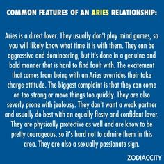What does an aries man want in a woman