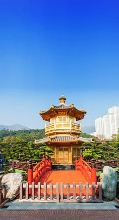 Pagoda at Nan Lian Garden, Chi Lin Nunnery, Hong Kong    |   21 Magnificent Photos That Will Place China On Your Bucket List
