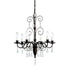 CanadaLightingExperts | Barcelona - Six Light Chandelier $286