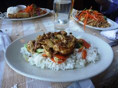 Thai food, Bain bridge island, Seattle