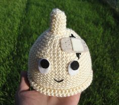 Timmy the Broken Condom: a socially inappropriate newborn baby hat - crochet  #NoKids #Childfree #Humor