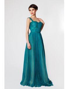 Rochie Nicole Enea, culoare turquoise