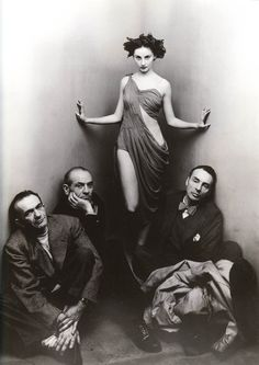"""24hoursinthelifeofawoman: """"Ballet Society by Irving Penn, 1948 """""""