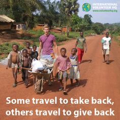 Bucket List: spend my vacation making a difference