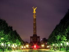 Siegessäule in Berlin, Germany