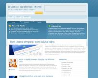 Bluemist WordPress Theme