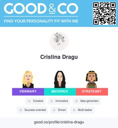 Just took Good&Co's personality test and discovered my personal strengths. What are yours?