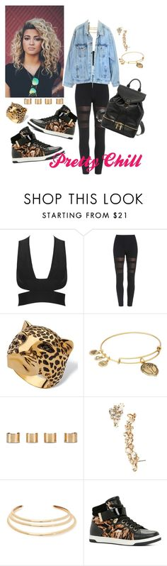 """Street Geekin"" by qu33n-imani-of-the-moth3rland ❤ liked on Polyvore featuring Palm Beach Jewelry, Alex and Ani, Maison Margiela, Marchesa, Kenneth Jay Lane, Levi's, ALDO and Alexander McQueen"
