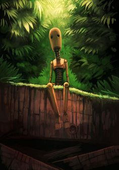 Sad robot    #Digital #Art / #Photomanipulation / #Fantasy #photography