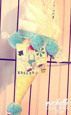 easter tussy mussy - SO CUTE!