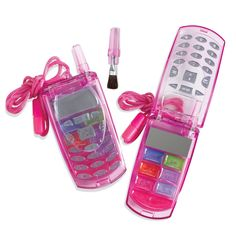 (Libby) After seeing her cousin Cayla's cell phone lip gloss compact, she MUST have one for her birthday.