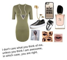 """""""Untitled #69"""" by marta2311 ❤ liked on Polyvore featuring WearAll, Social Anarchy, KC Designs, Casetify, Vans, West Coast Jewelry and Armani Beauty"""