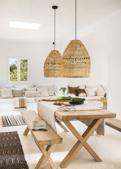 〚 Lovely summer villa with views on the site of old farmhouse in Ibiza 〛 #interiordesign #homedecor #idea #inspiration #cozy #living #space #home #decor #style #interior #design #natural #meditteranean Living Room Remodel, Living Room Paint, Living Room Colors, Home Living Room, Living Room Decor, Dining Room, Simple Living Room, Small Living Rooms, Cozy Living