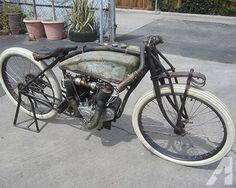 1916 Excelsior Big Valve Board Track Racer