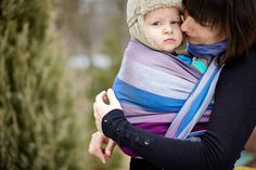 Baby Sling, Diamond Weave, 100% cotton - Norwegian Diamond - size L - LennyLamb.com. This might be good for when it gets really cold in Ohio!