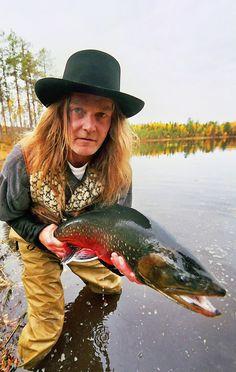 Örjan, our fly fishing guide