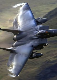 With its twin tail, the Eagle is probably the most recognizable military jet fighter in the skies today, and is undoubtedly the most successful jet figh. Military Jets, Military Aircraft, Fighter Aircraft, Fighter Jets, Jas 39 Gripen, Photo Avion, Jet Plane, War Machine, Air Force