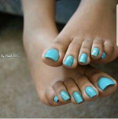 Pretty Toe Nails, Cute Toe Nails, Pretty Toes, Acrylic Toes, Summer Acrylic Nails, Cow Nails, Feet Nails, Toe Nail Color, Toe Nail Art