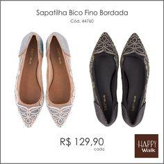 Lindíssima sapatilha por apenas R$ 129,90 cada! #happywalk #sapatilhas #bicofino #trend #inverno2015 #coleção