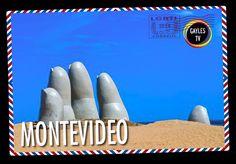 ¡Postal de Montevideo! La aprobación del matrimonio igualitario en Uruguay, reforzó Montevideo y la exclusiva zona de balneario de Punta del Este como destinos turísiticos LGTBI, especialmente en Septiembre cuando se celebra la Marcha de la Diversidad que reune a gais y lesbianas llegados de todo el continente.