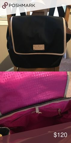 Kate Spade Kennedy Park Neko Backpack Black nylon with smooth leather trim. Functional and fashionable 🖤 straps are adjustable and hand strap allows this to be carried as a handbag as well. Interior dog clasp closure, outside magnetic closure. Interior zipper pocket and dual slide pockets. Minimally used, no signs of wear. Perfect for an on-the-go vacation bag (Disney anyone)🎒 kate spade Bags Backpacks