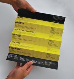 Fashion Show Invitation Flyer